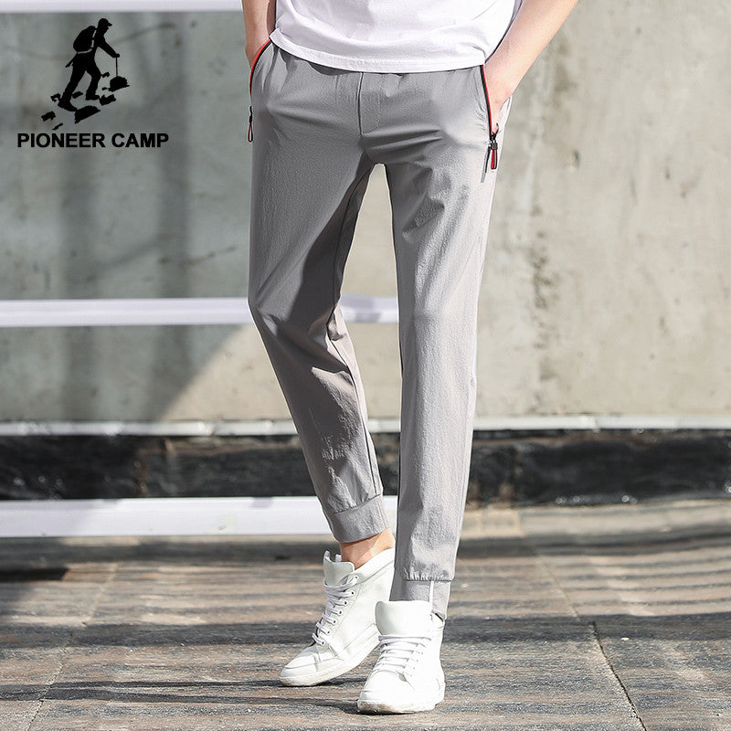 Pioneer Camp New arrival solid casual pants men brand clothing fashion