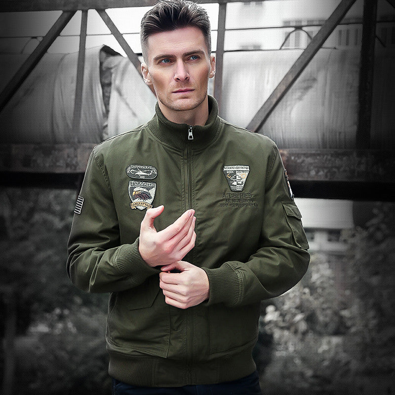 2017 Brand Bomber Jacket Men Tactical Military Men Jacket  army