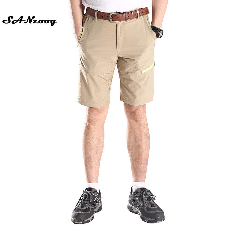 2017 Fashion Men's Casual Shorts Summer Business Pantalones Straight