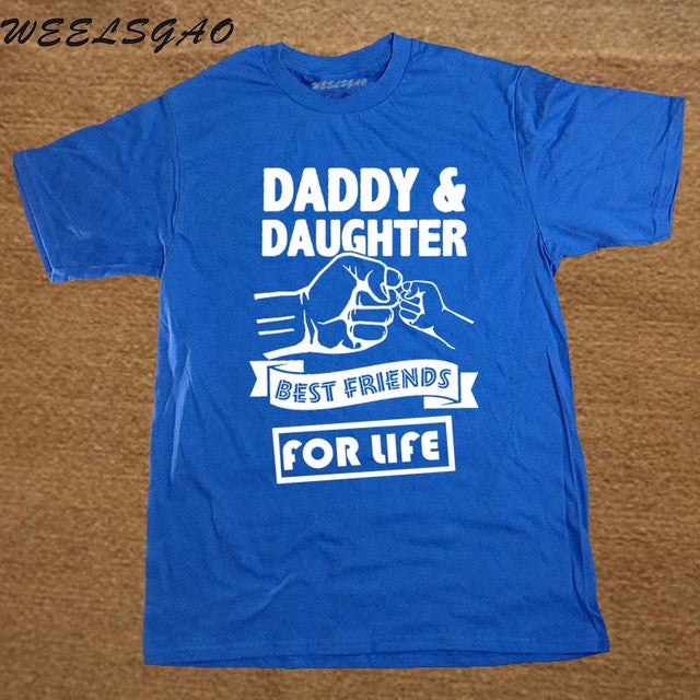 93c40bece0 Daddy And Daughter Best Friends For Life Fathers Day Dad Gift Funny ...