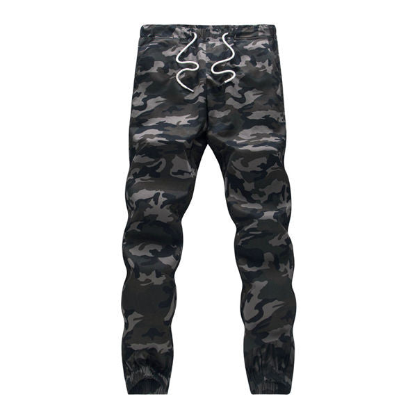 100% Cotton Mens Jogger Autumn Pencil Harem Pants 2017 Men