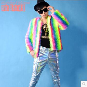 2016 male costume cool nightclub clothing outdoors slim wear