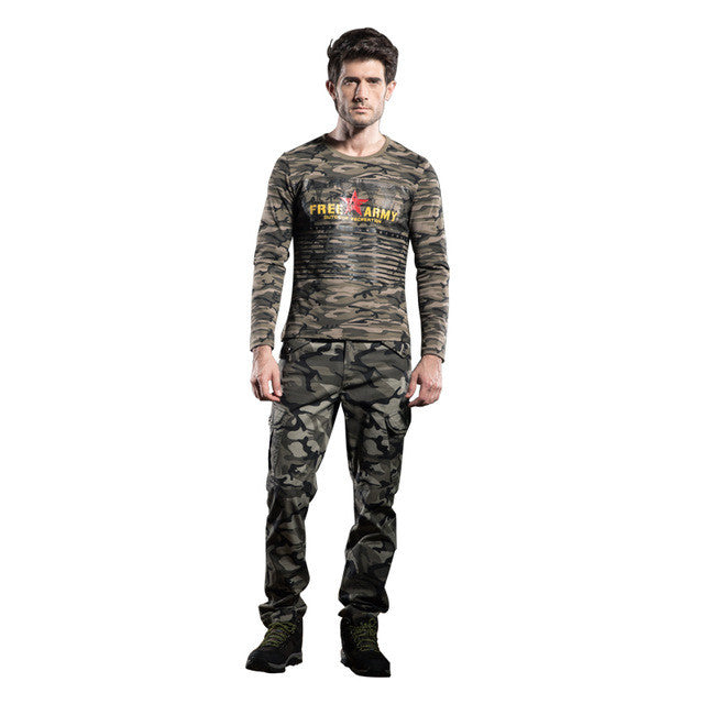 2017 Fashion Military Tactical Pants Brands Men Winter Track Pants