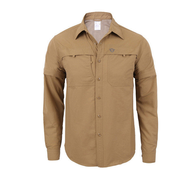 2017 New Army Men's Summer Tactical Shirt Quick Dry Shirt Removable