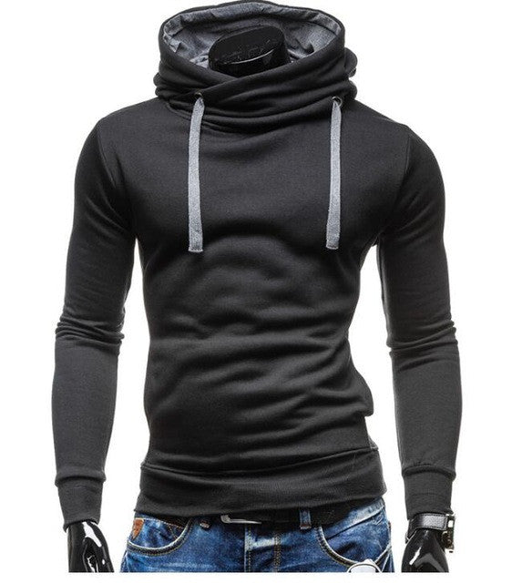 2017 Hoodies Men Sudaderas Hombre Hip Hop Mens Brand Solid Color