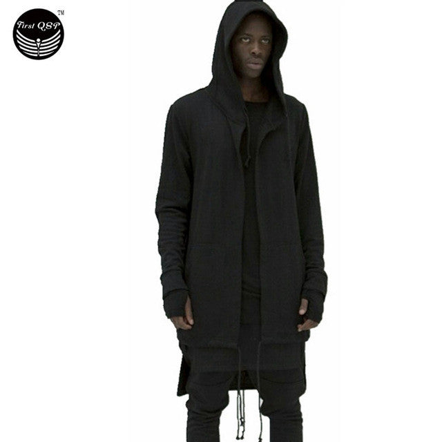 2017 Hoodies Men Sudaderas Hombre Hip Hop Mens Brand Hooded Cloak Cape