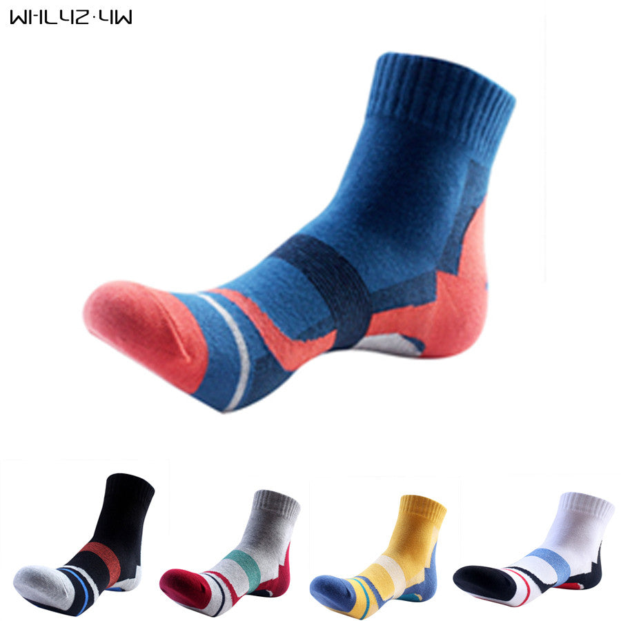 10pieces=5pairs=1lot brand socks men 100 cotton breathable compression