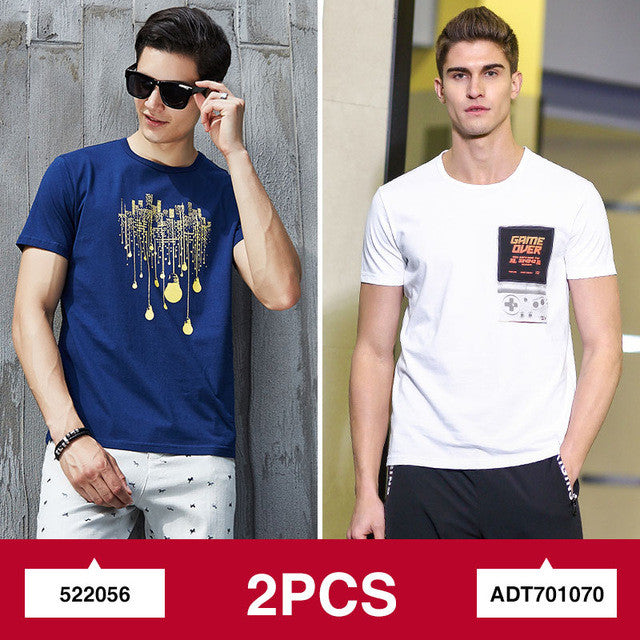 Pioneer Camp 2-pack promoting fashion summer short men t shirt