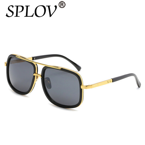 2017 SPLOV Oversize Square Sunglasses Men Women Celebrity Sun Glasses Male Driving Superstar Luxury Brand Designer Female Shades
