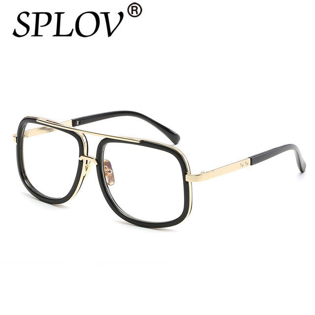 2017 SPLOV Oversize Square Sunglasses Men Women Celebrity Sun