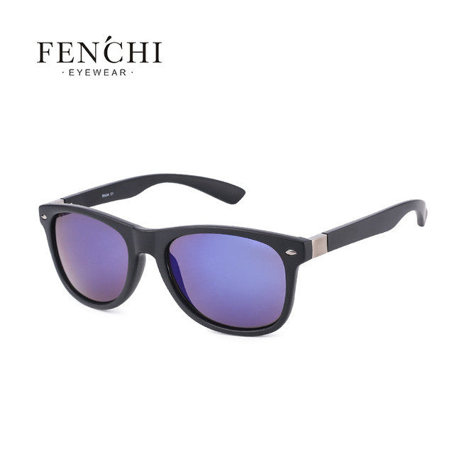 2017 FENCHI plastic hot ray sunglasses men women pilot Fashion Driving