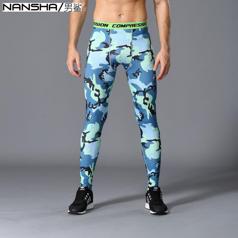 2017 Camouflage Pants Men Fitness Mens Joggers Compression Pants