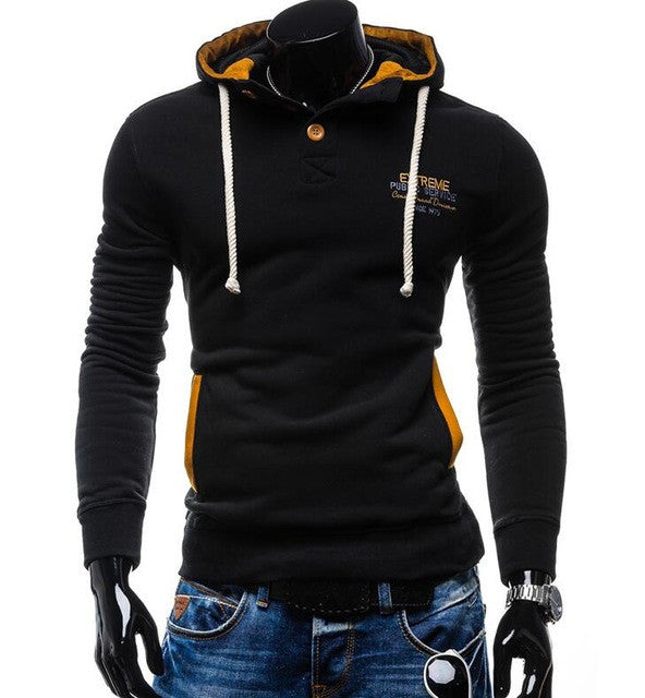 2017 Hoodies Mens MaleMale Brand Hoodie Pullover Black Harness