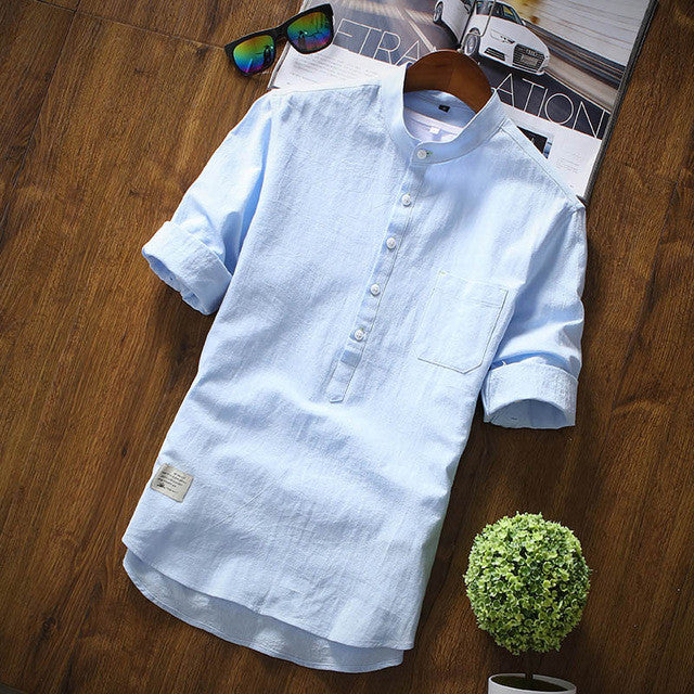 New Arrival Men's Shirts Fashion Summer Half Sleeve Shirts For Men