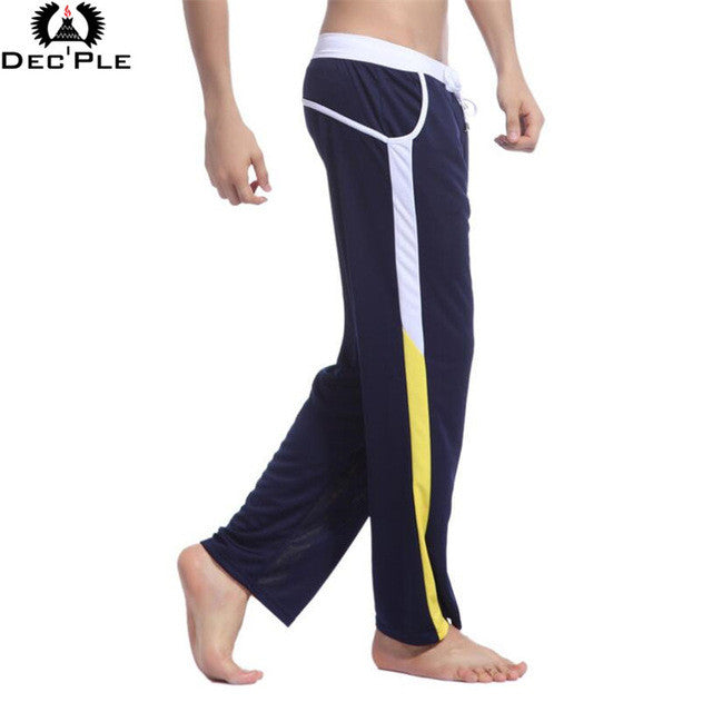2017 Fashion loose pants for Men Fitness Workout Legging Summer