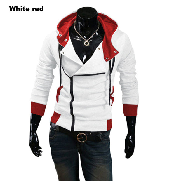 2017 assassins creed jacket Fashion Hoodies Men Casual Sportswear Male