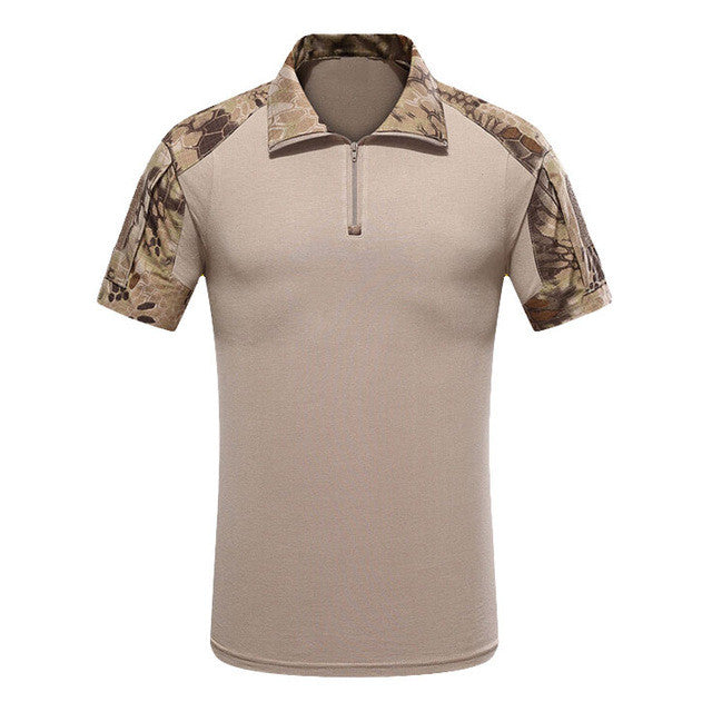 3Colors Summer Men's Tactical T Shirt Brand Army Military Camouflage