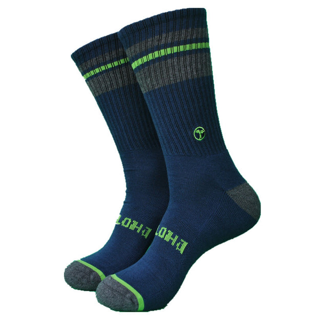 1 Pair Terry Thicker 85% Bamboo Casual Men's Socks Skateboard Socks
