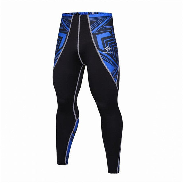 2017 Compression Pants for Men Long Leggings for MMA Rashguard Men