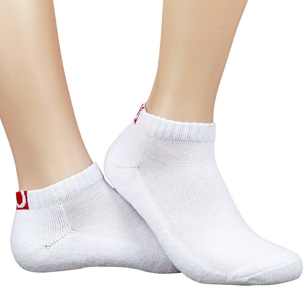 1 Pair Thin Section Standard Casual Men Socks Cotton Boat Towel Bottom