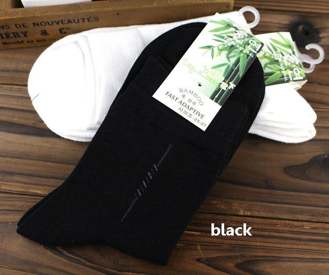 10pair Men's bamboo fiber cotton Socks for spring autumn male casual