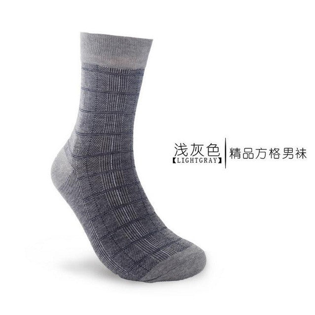 10pair Men's bamboo fiber cotton Socks for spring autumn winter