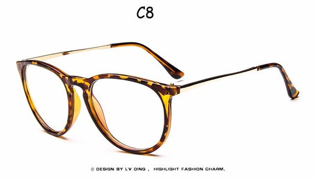 2017 Brand Designer Frame For Men's Glasses Transparent Eyeglasses For