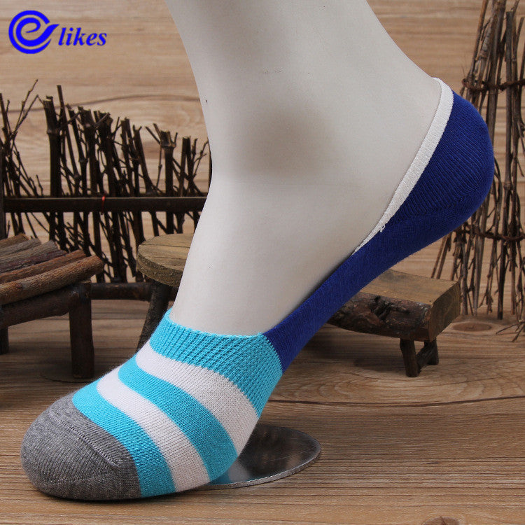 12Pairs Mens Bamboo Invisible Ankle Socks Men Summer Casual Loafer