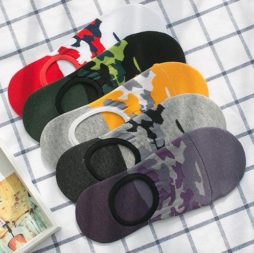 10Pairs Men cotton Invisible Socks Spring Summer Casual Non-slip