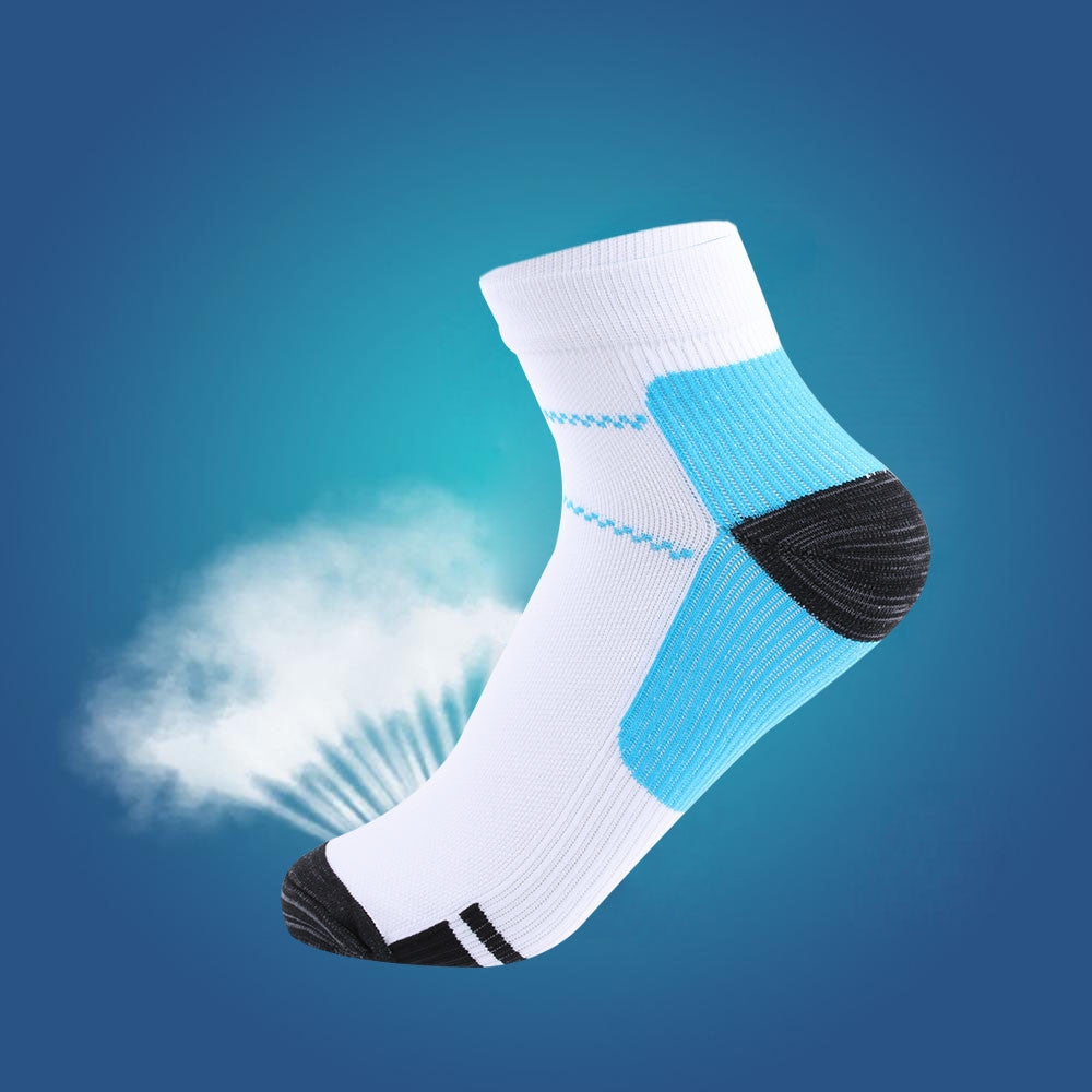 1 Pair Unisex Foot Compression Socks For Plantar Fasciitis Heel