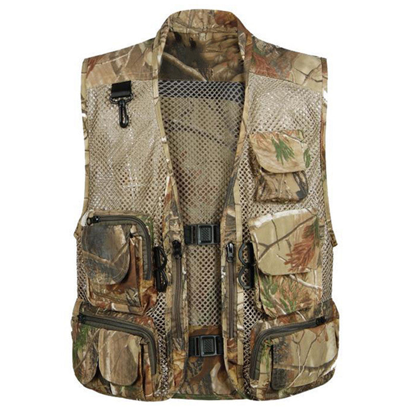 2016 European and American Style Mens Vest Military Style Outwear