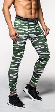 2016 Camouflage Pants Men Fitness Mens Joggers Compression Pants