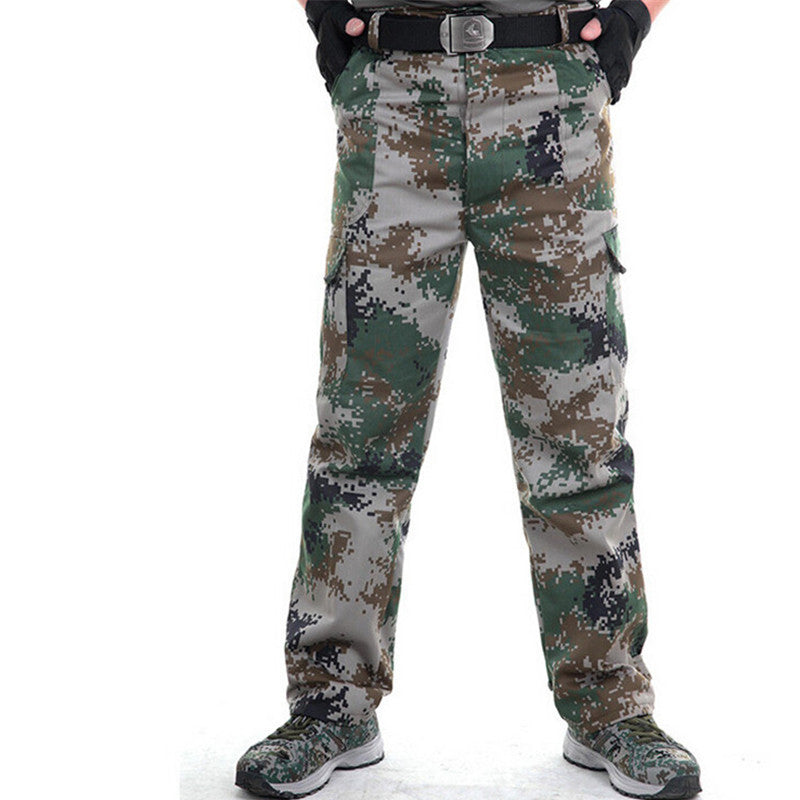 2017 Autumn Tactical army Green military pants men's sweatpants