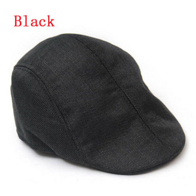 1 pcs New Arrival Unisex Summer Peaked Beret Flax Cap Country Outdoors