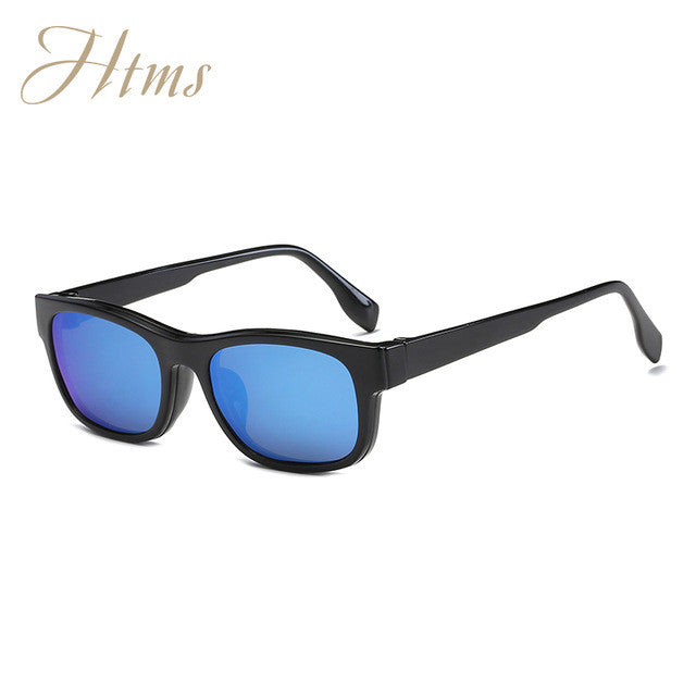 a3f61c40f60 Magnet Flat Polarized Sunglasses Dual use TR90 Clip Mirrored – Men s ...