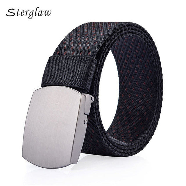 2017 Direct Selling Real High Quality Youth Leisure Canvas Belts For