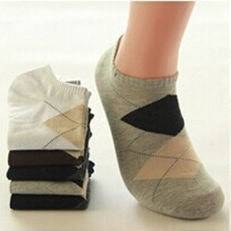 1Pair Breathable Compression Socks For Male New Brand Happy Sock