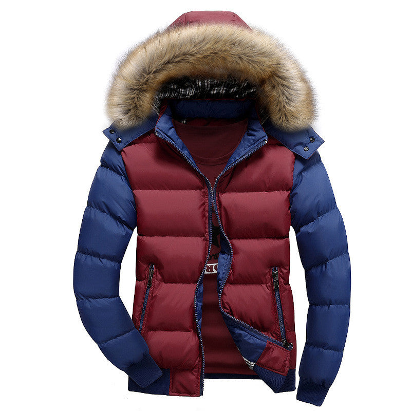2016 New arrival Winter Jacket Men Parkas Brand bomber jacket Hooded