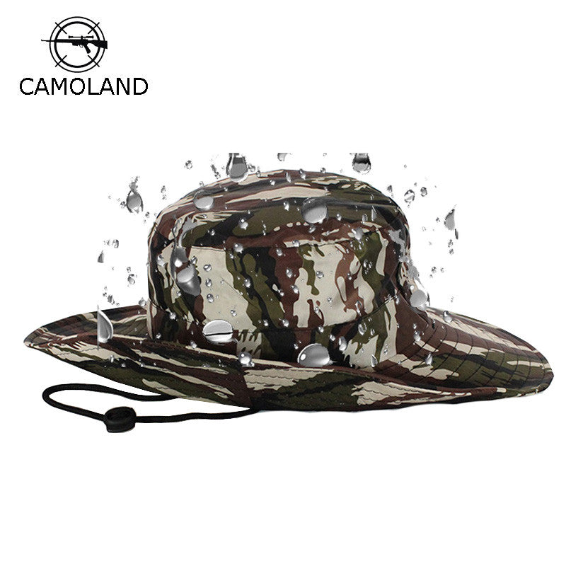 Waterproof Tactical Airsoft Sniper Camouflage Boonie Hats Foldable