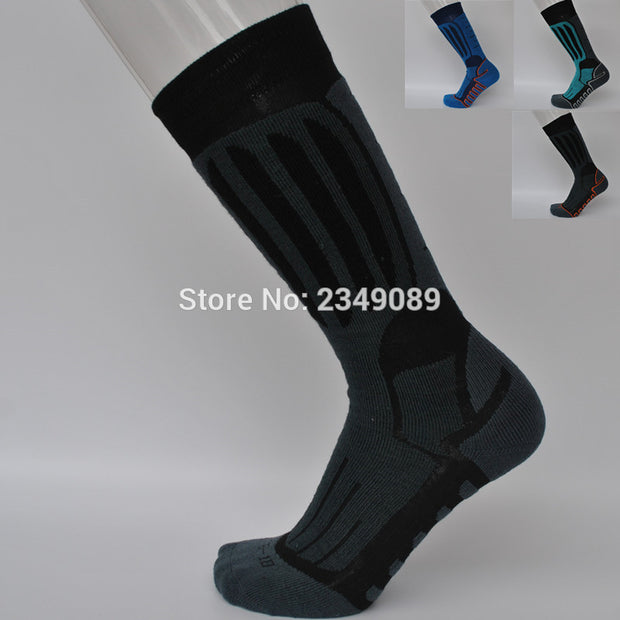 1 Pair Winter Terry Thick snowboard  socks Women's socks Men's socks