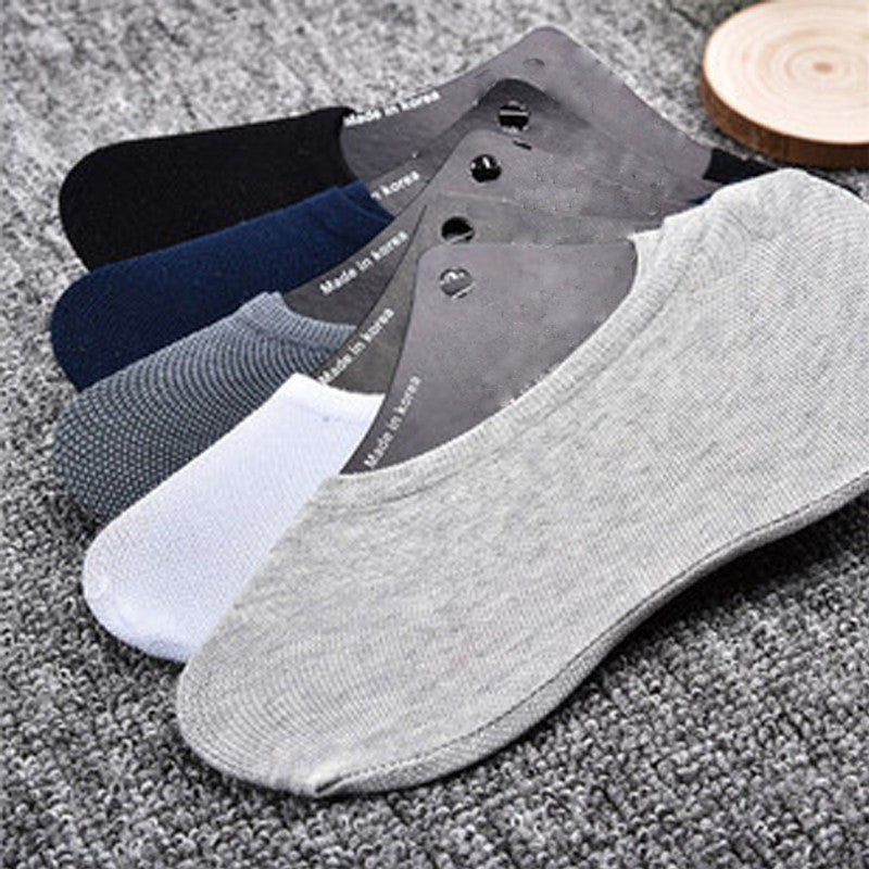 12pieces=6pairs/lot Mixed-color Boat Socks Cotton Sock Slippers Casual