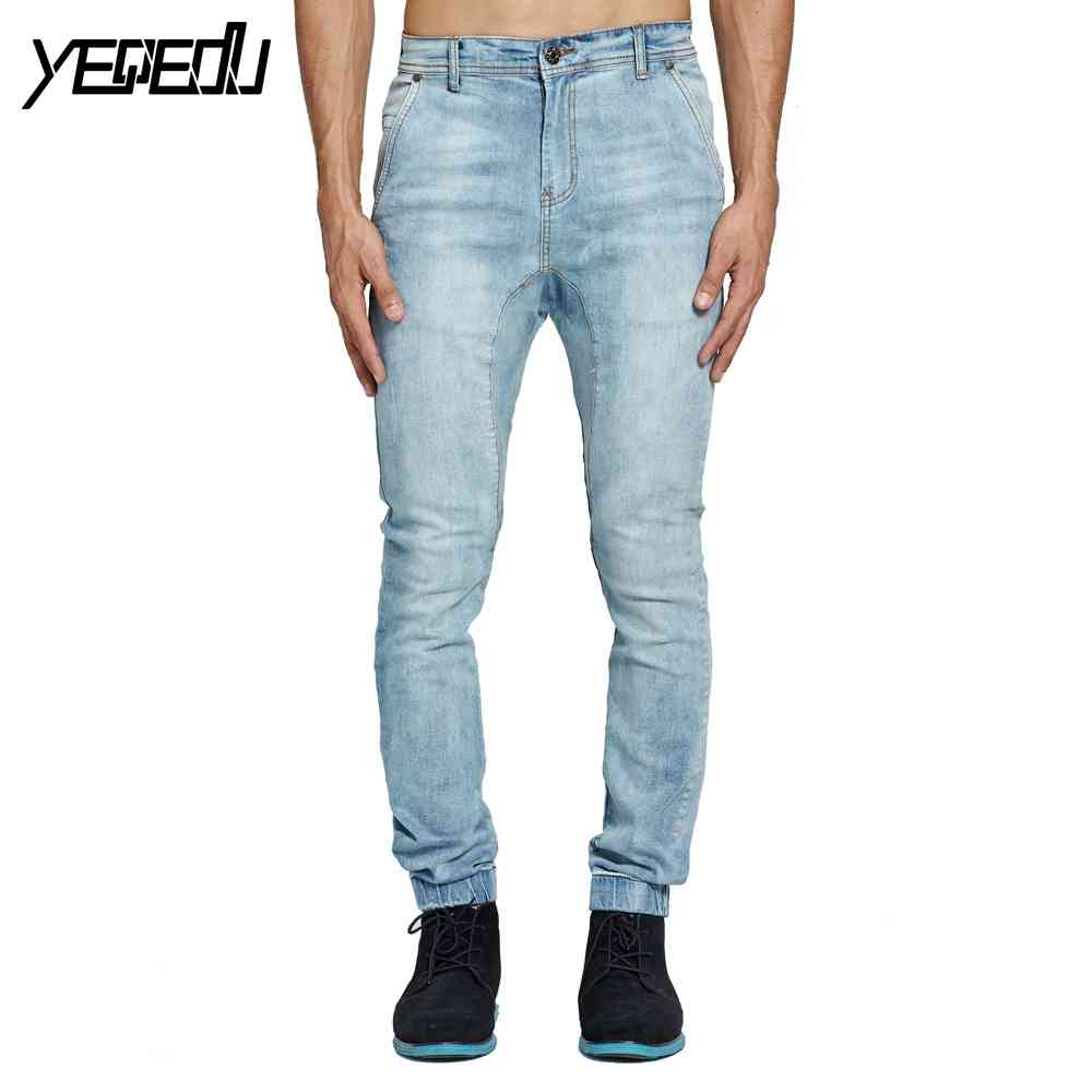 #2113 Fashion Stretch Joggers jeans Designer jeans men high quality