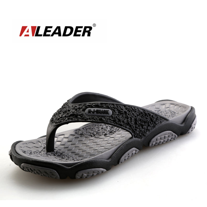 2016 Men's Sandals Casual Summer Slippers Shoes Men Lesiure Rubber