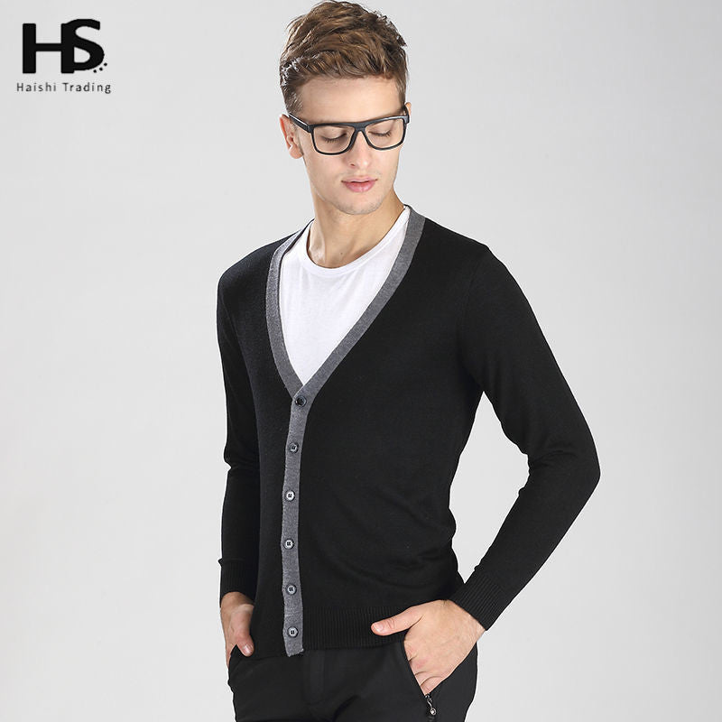 2016 Spring New Cardigan Men Sweater Men Brand Clothing Mens