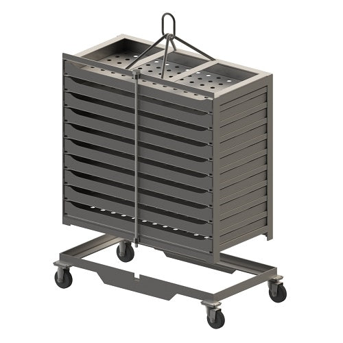 Custom Carts Trays and Baskets