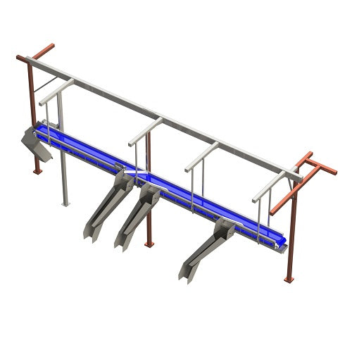 Overhead Diverter Conveyor