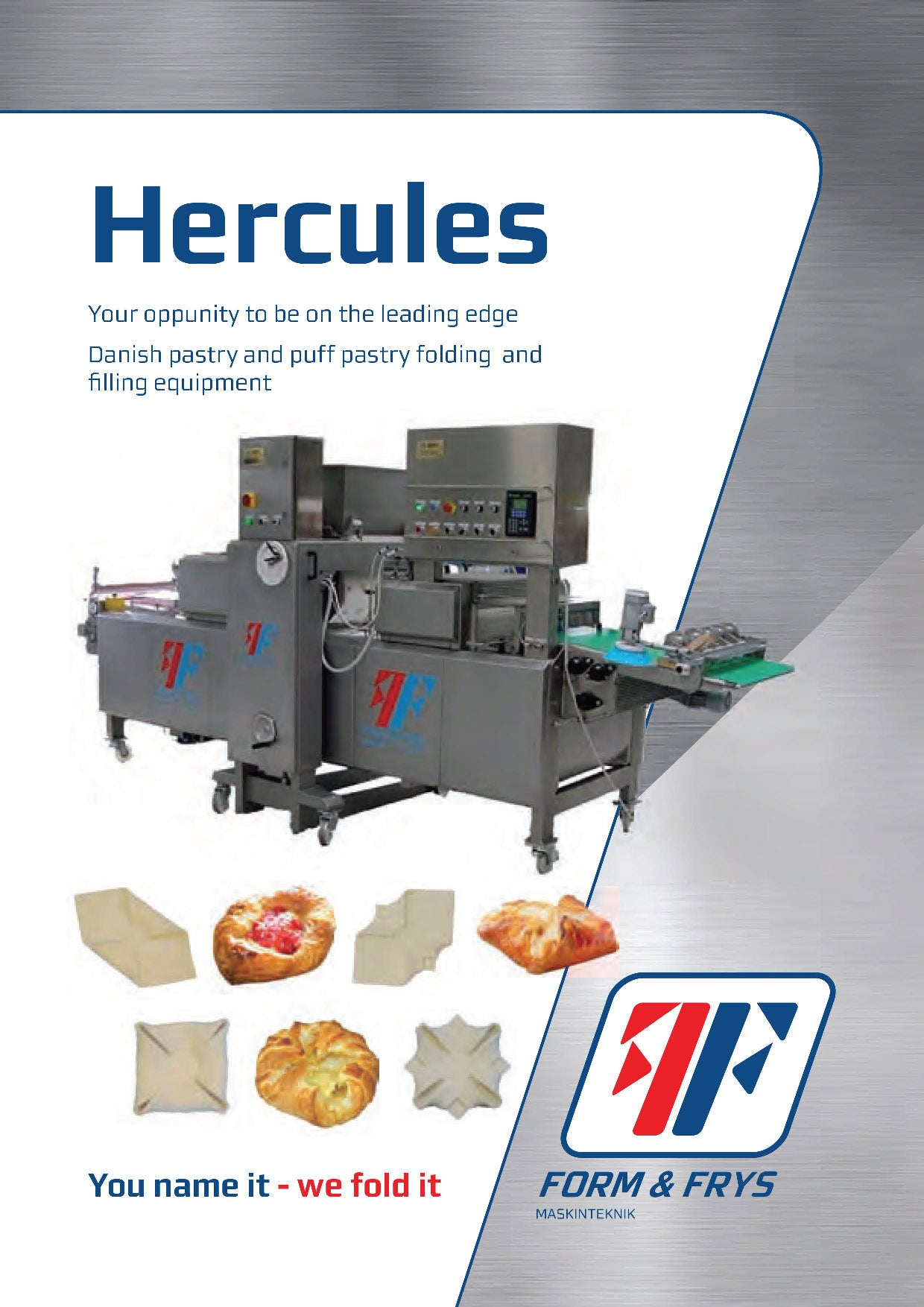 Hercules Dough Folder