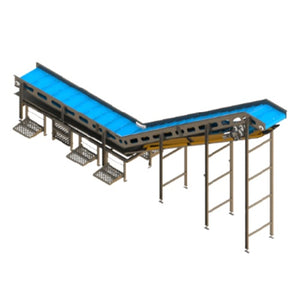 Incline Conveyor with Ergo Stands