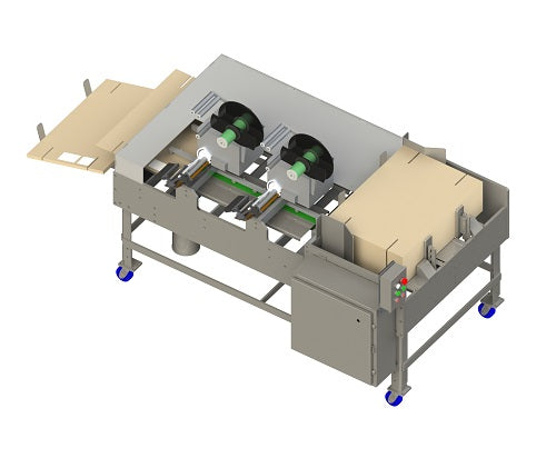 Flat Box Label Applicator