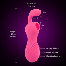 Princess Megan Deluxe Clitoris suction and G-spot stimulation device